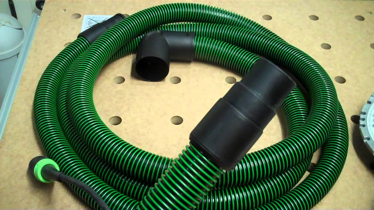 Making a 36mm to 27mm Festool Hose Adapter - YouTube