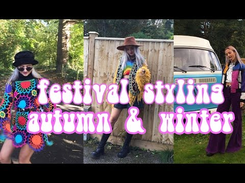 How To Style Festival Clothing In Autumn/Winter | Easy Tiger