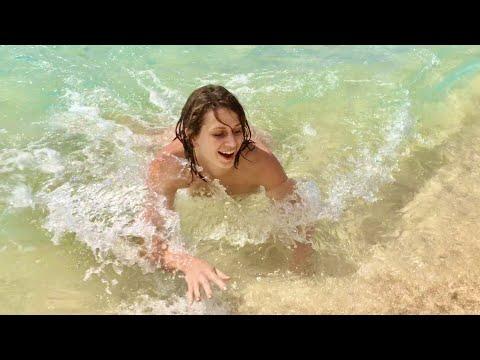 Orient Beach on St.Maarten, Antilles