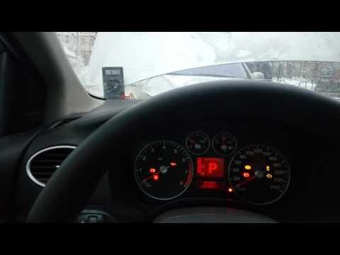 ФФ2 Форд Фокус 2 не заводиться на морозе, тухнет приборка