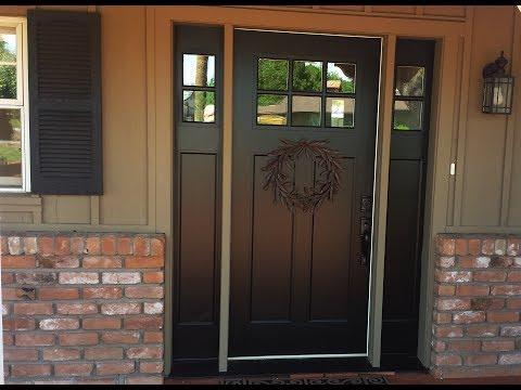 New Front Door in Sherman