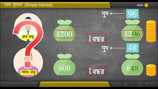 সরল সুদকষা (Simple Interest) | Class X Mathematics | WBBSE