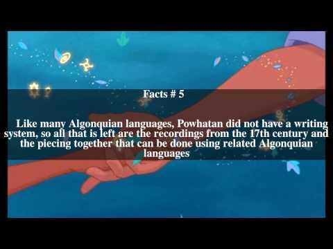 Powhatan language Top # 10 Facts