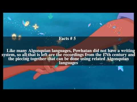 Powhatan language Top # 10 Facts