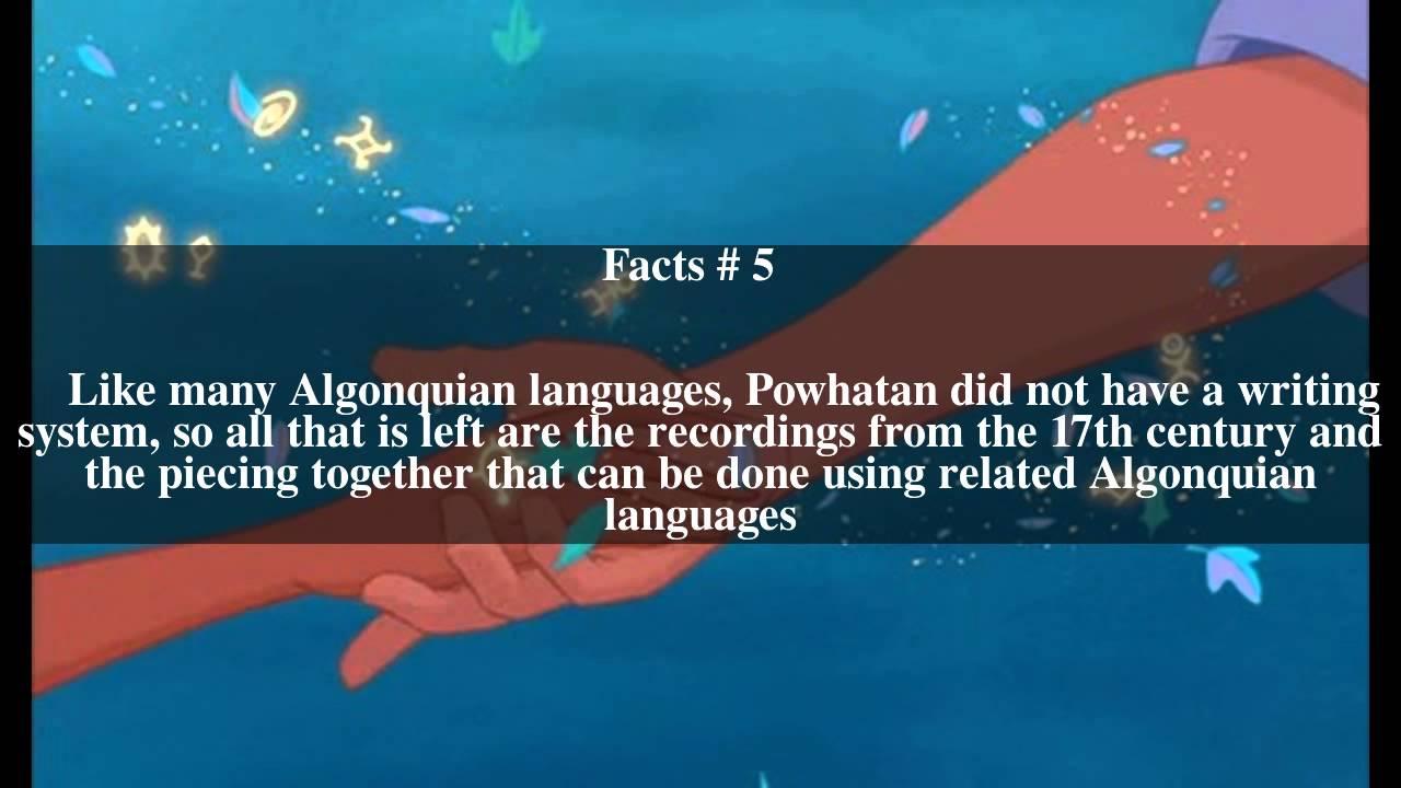 Powhatan language Top # 10 Facts - YouTube
