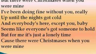 Taylor Swift Christmases When You Were Mine Lyrics.mp3