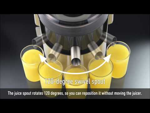Panasonic 3-in-1 Juicer MJ-DJ31