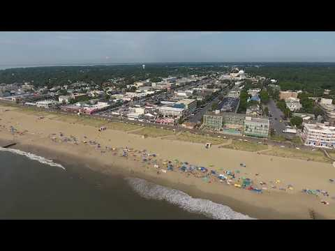 Rehoboth Beach, Delaware - Drone Flight (7/19/2017)