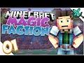 FIERY START! - Minecraft Magic Factions: Episode 1