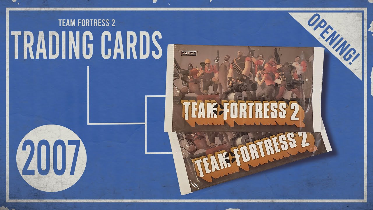 Opening Prehistoric TF2 Trading Card Packs From 2007