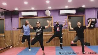 Saade Aala - Bhangra4Fitness | Sharry Mann | Mista Baaz | Easy Choreo | Dance Cover | BhangraRoutine