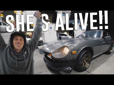Bringing ABANDONED Datsun 280z BACK TO LIFE in TWO DAYS! *Untouched 14 YEARS*