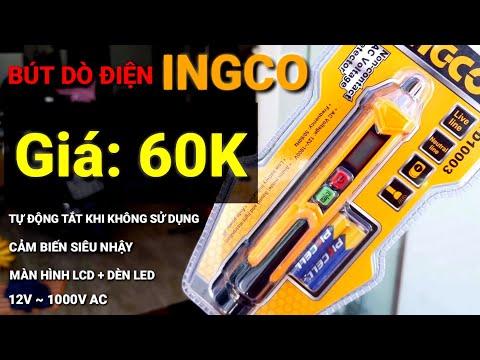 REVIEW Bút Dò Điện Tử AC INGCO VD10003   Giá: 60.000vnđ  [Clip Test thực tế ]