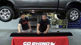 Go Rhino RB10 Running Boards Installation on Ram 2500HD Crew Cab (63410687T)
