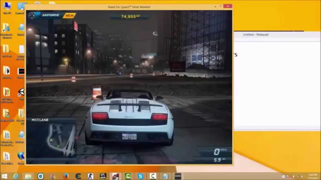 need for speed most wanted 2012 free download for pc windows xp