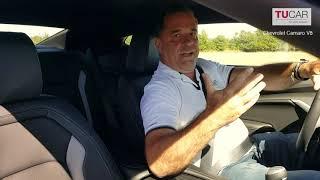 Miroslav Etzler představuje Chevrolet Camaro V8