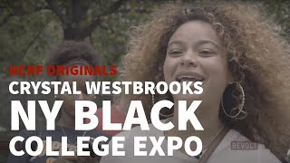 Crystal Westbrooks inside look NY Black College Expo