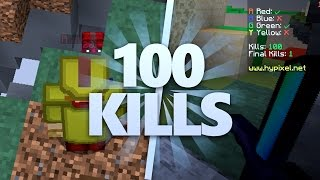 FAIRE 100 KILLS EN BEDWARS ! (RECORD)