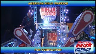 Fun American Ninja Warrior Compilation
