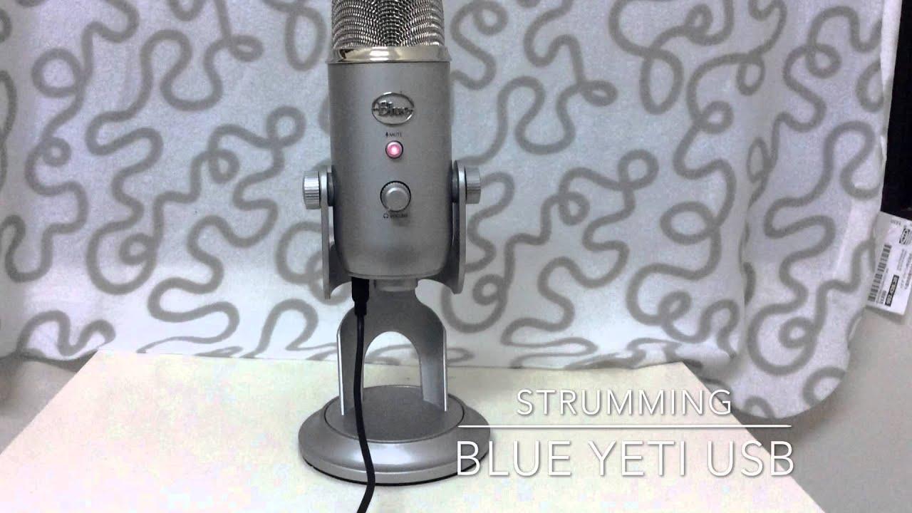 blue yeti acoustic guitar record comparison youtube