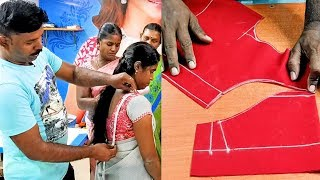 Normal Blouse Measurement With Cutting | Tailor Bro