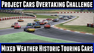 Project Cars Overtaking Challenge Mixed Weather Historic Touring Cars