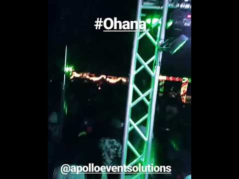 Apollo Event Solutions stage show waterville estate April 8th 2018