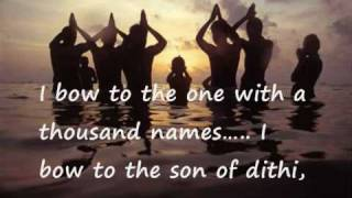 Hymn with English subtitles- Aditya Hrudayam - Powerful Mantra from Ramayana