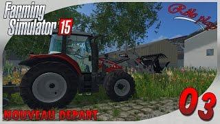 Farming Simulator 15   Nouveau départ #3 Journée à la ferme et 4x4 ! [RP]