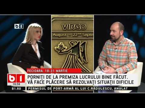 HOROSCOP 360 De Grade, Cu Alina Badic ZODIA FECIOARA 18 31  MARTIE  2017
