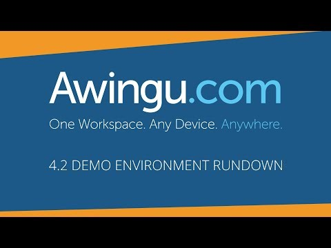 Awingu product overview