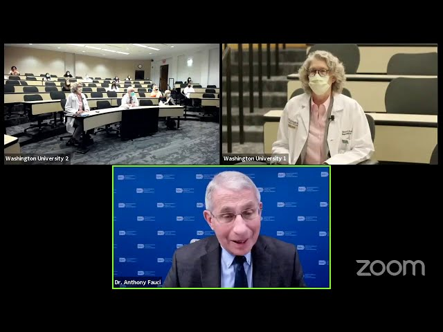 """Anthony Fauci\: \""""Insights into the COVID-19 pandemic\"""""""