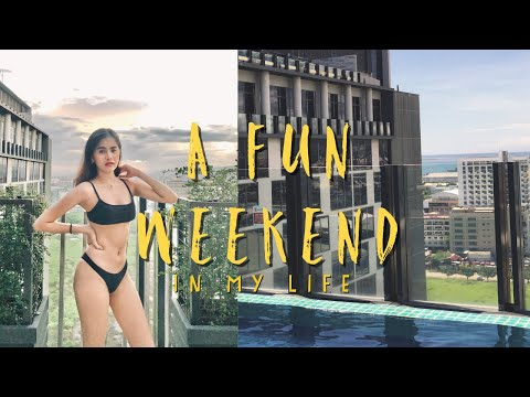 a FUN weekend in my life | swimming + unboxing ✨🌿