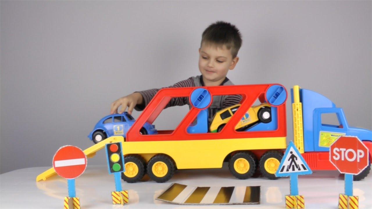 Машинки Автовоз Развивающий мультик - Video