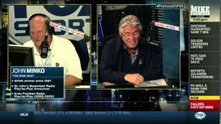 Mike Francesa: Minko still uses VHS, Mike tries to explain DVR to him