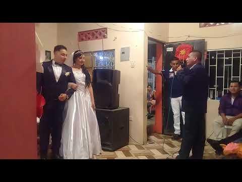 Cantando en la boda de mi hija ginger baque castro lunarcito rockolero # 2 parte