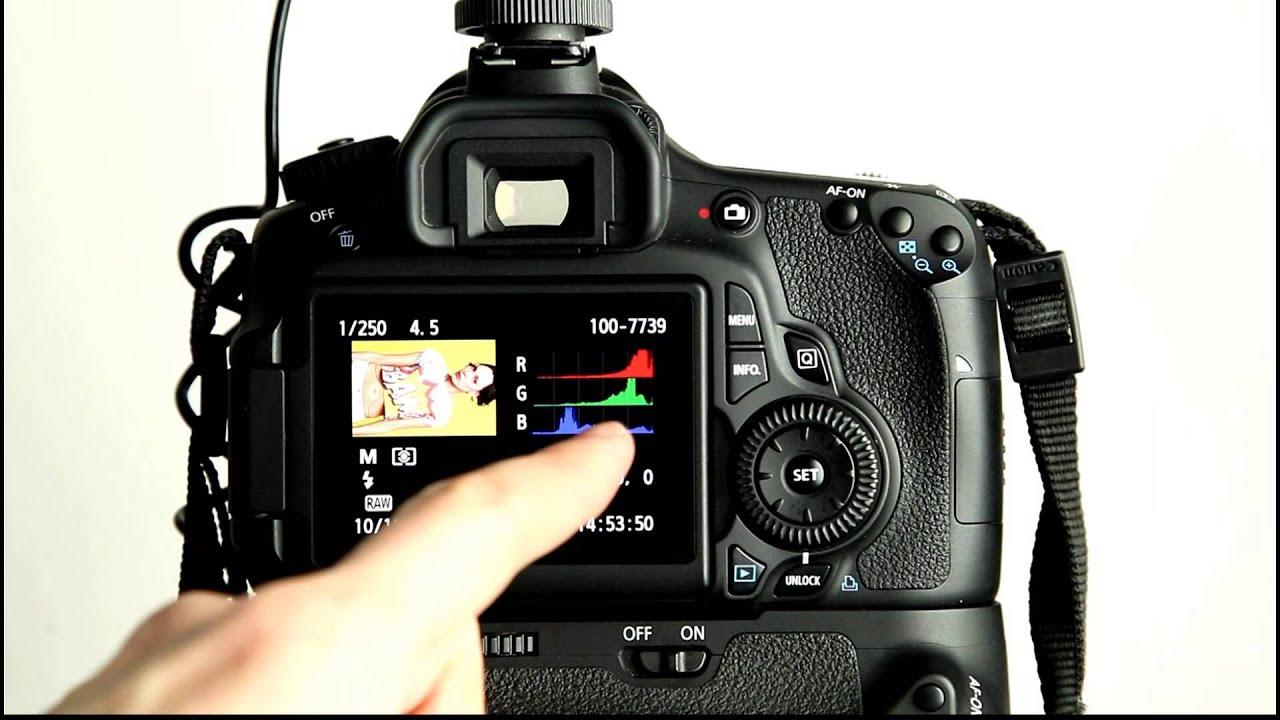 canon eos 60d tutorial video 8 playback menu 2 youtube. Black Bedroom Furniture Sets. Home Design Ideas