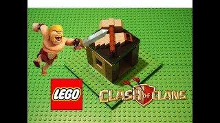LEGO Clash of Clans Builder Hut tutorial