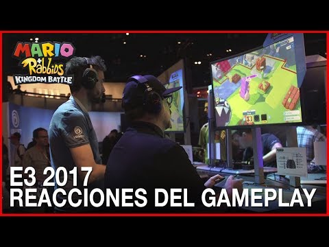 Mario + Rabbids: Kingdom Battle - Reacciones del Gameplay