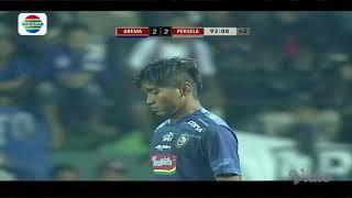 Piala Presiden 2018 : Gol Bunuh Diri Zaenuri Arema FC (2) vs Persela Lamongan (2)