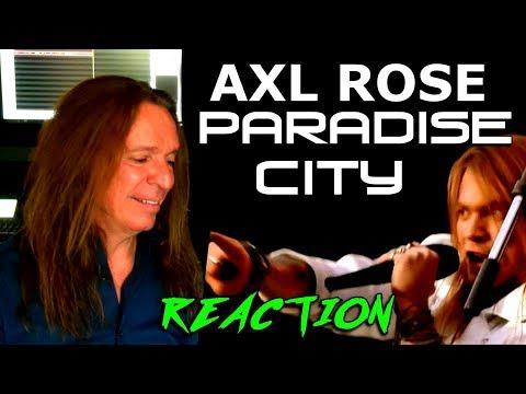 Vocal Coach Reaction To Axl Rose – Guns N Roses – Paradise City – Ken Tamplin