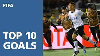 Top 10 goals: fifa club world cup japan 2012
