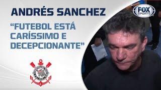 SOLTOU O VERBO! Andrés Sanchez concede entrevista polêmica antes da partida do Brasileirão