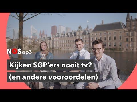 'SGP'ers kijken nooit tv' en andere vooroordelen | NOS op 3