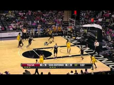 WNBA 2012 Highlights: San Antonio vs. Tulsa Shock [26.08.2012]