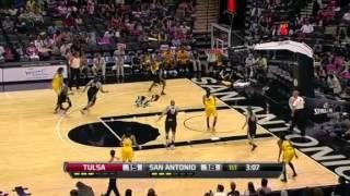 WNBA 2012 Highlights: San Antonio vs. Tulsa Shock [26.08.2012]