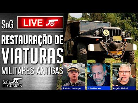 🔴-sdg-live---restauração-de-viaturas-militares-antigas-no-brasil