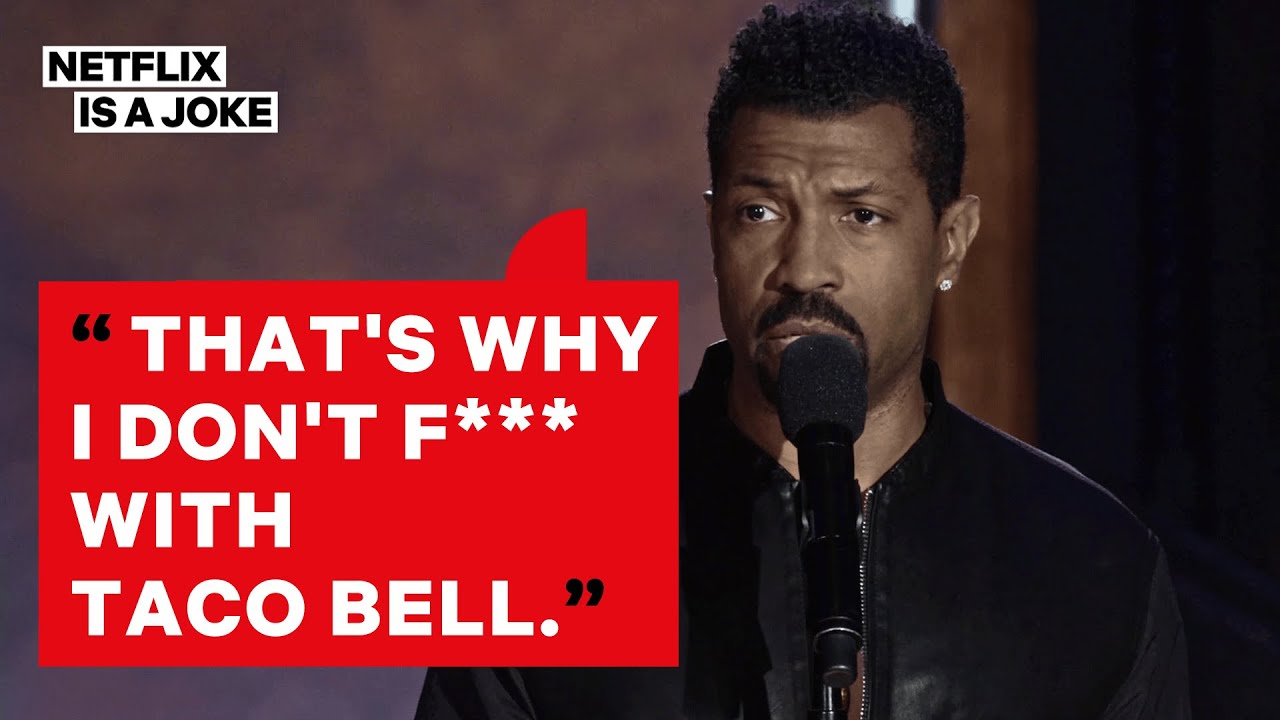 Deon Cole Is a Racist About His Food | Netflix Is A Joke