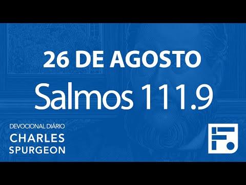 26 de agosto – Devocional Diário CHARLES SPURGEON #239