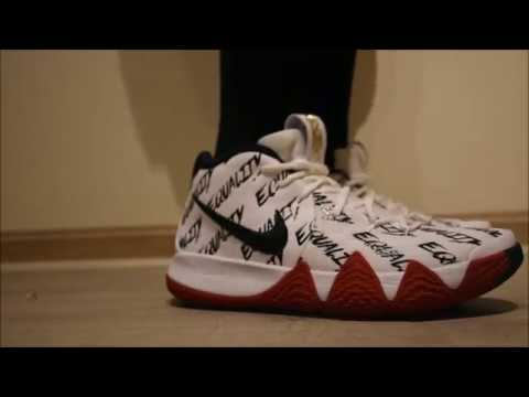 1c211c74943 Kyrie 4 BHM Unboxing and On-foot! - YouTube